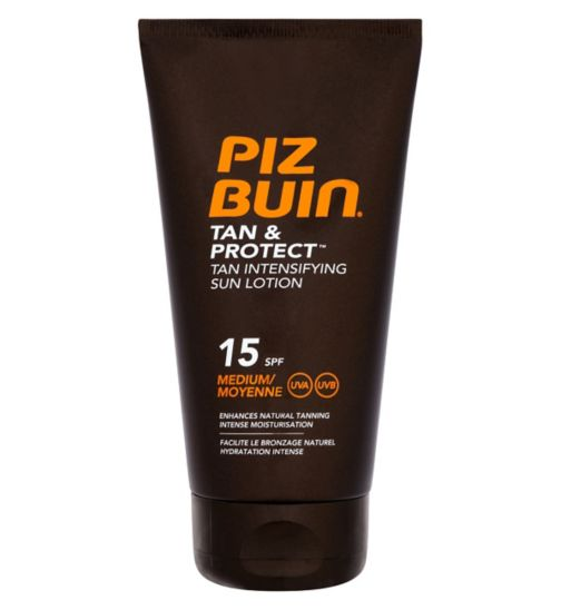 Piz Buin Tan & Protect Intensifying Sun Lotion SPF 15 150ml