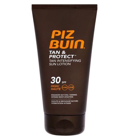 Piz Buin Tan & Protect Intensifying Sun Lotion SPF 30 150ml