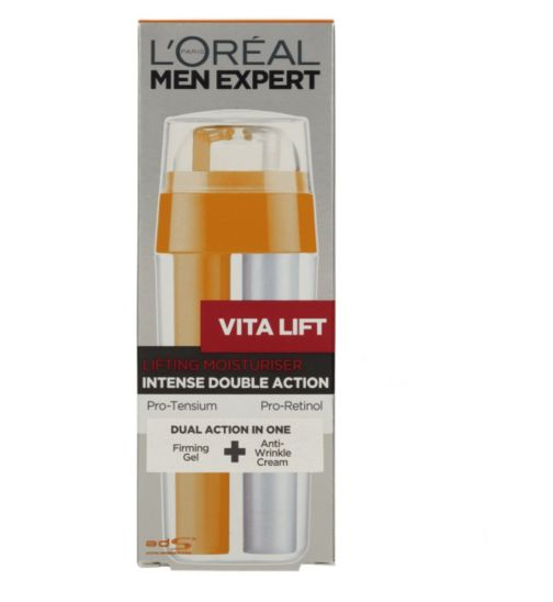 <p>L'Oreal Men Expert Vita Lift Double Action Moisturiser 30ml</p>