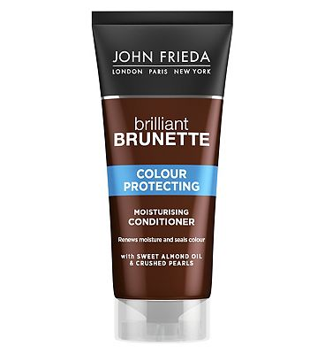 John Frieda Brilliant Brunette Shine Release Conditioner Chocolate to Expresso 50ml