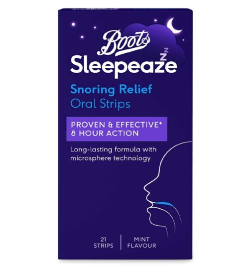 Boots Sleepeaze Snoring Throat Strips (21 Strips)