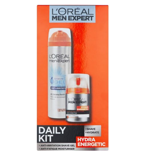 <p>L'Oreal Men Expert Hydra Energetic Daily Skincare Kit</p>