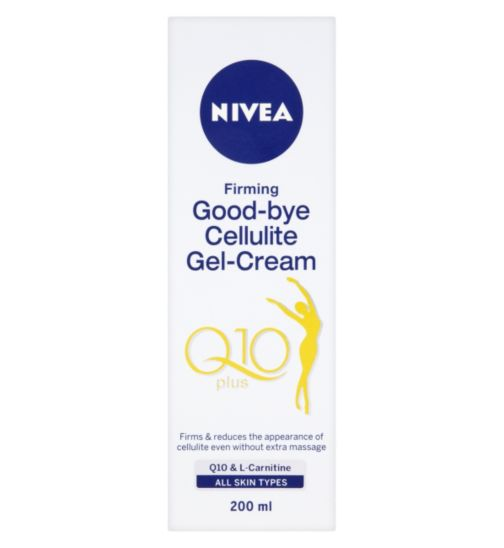 Nivea Q10 Plus Goodbye Cellulite Gel-Cream 200ml