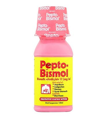 Pepto Bismol 17.5mg/ml Oral Suspension - 120ml
