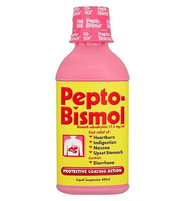 Pepto-Bismol 17.5mg/ml Oral Suspension - 480ml