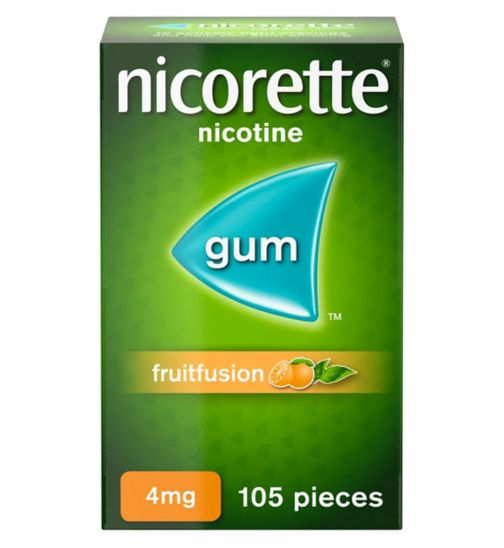<p>Nicorette Fruitfusion Gum 4mg - 105 pieces</p>