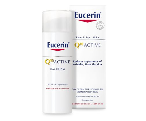 Eucerin Sensitive Skin Q10 Active Anti-Wrinkle Day Cream 50ml