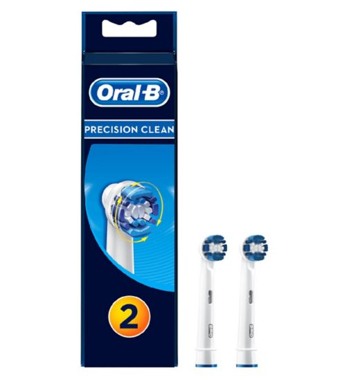 Oral-B Precision Clean Electric Toothbrush Heads 2 Pack