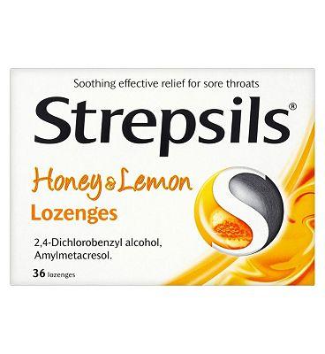 Strepsils Honey and Lemon - 36 lozenges