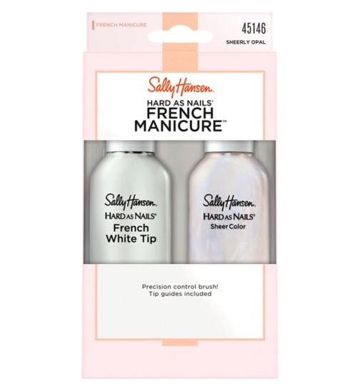 Sally Hansen French Manicure Kit