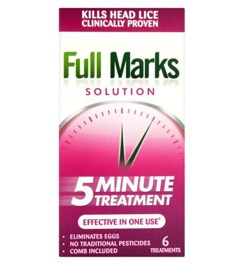 Full Marks Solution 5 Minute Treatment 300ml