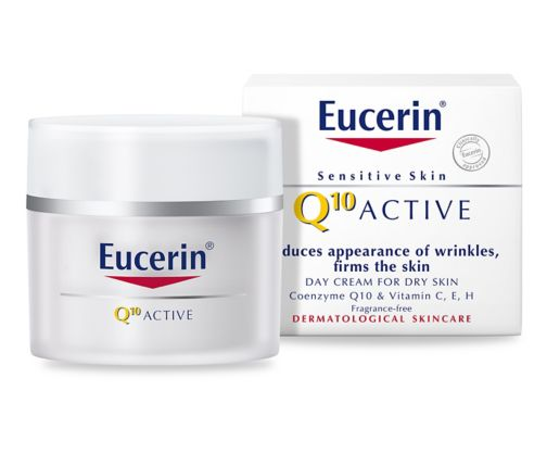 Eucerin Sensitive Skin Q10 Active Anti-Wrinkle Cream 50ml