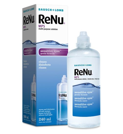 Bausch & Lomb Renu Multipurpose Contact Lens Solution 240ml