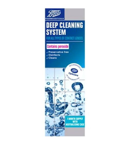 Boots Pharmaceuticals Deep Cleaning System (1 Month Supply) - 360ml