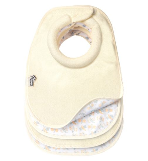 Tommee Tippee Milk Feeding Bibs Four Pack