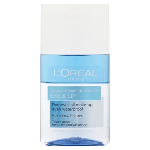 L'Oréal Paris Absolute Make-Up Remover Eye & Lip 125ml