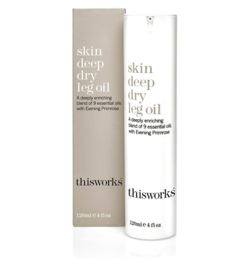 this works skin deep dry leg oil 120ml