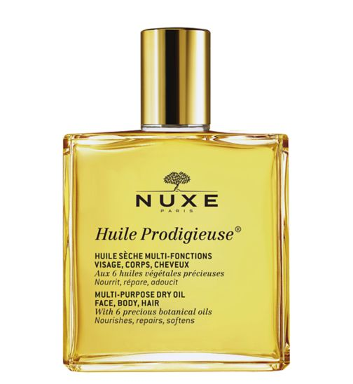 Nuxe Huile Prodigieuse  50ml - Multi-purpose dry oil for face body and hair