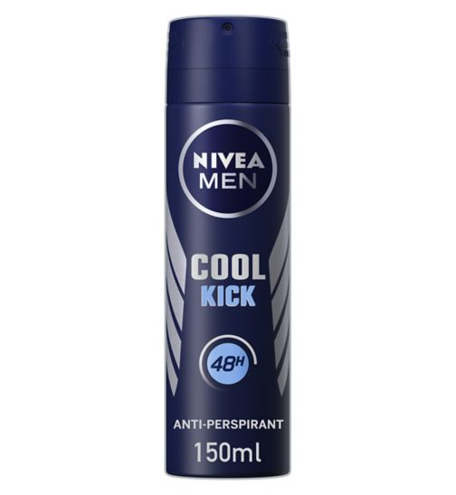 <p>Nivea For Men&nbsp;Aqua Cool Anti Perspirant Deodorant 150ml</p>