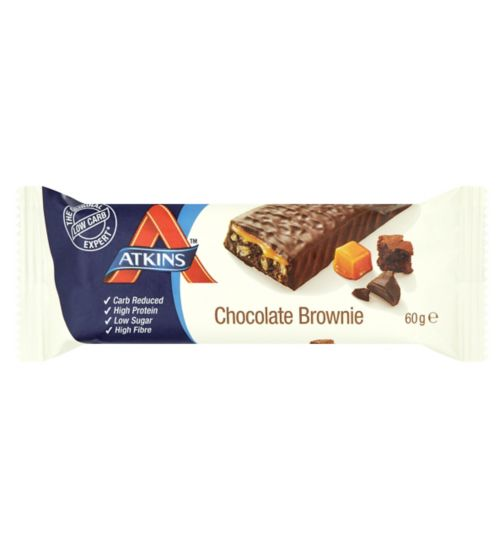 Atkins Advantage Chocolate Brownie Bar with sweetener - 60 g