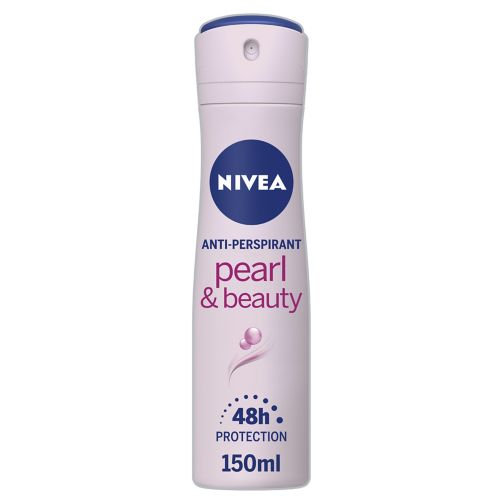 NIVEA Pearl & Beauty Anti-Perspirant Deodorant Spray 150ml