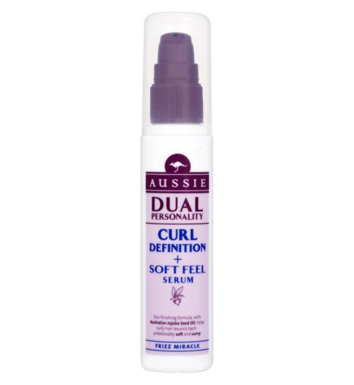 Aussie Dual Personality Styling Curl Definition & Soft Feel Serum 75ml