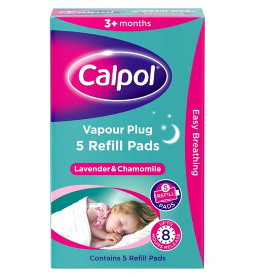 Calpol Sooth & Care Vapour Plug & Nightlight Refills 5s