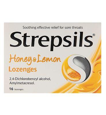 Strepsils Honey and Lemon - 16 Lozenges