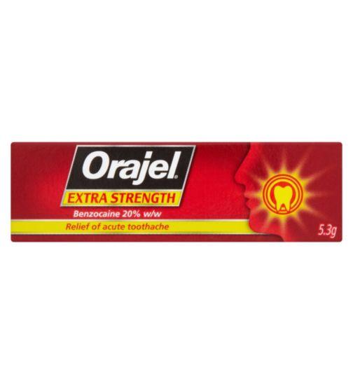 Orajel Extra Strength Dental Gel 5.3g