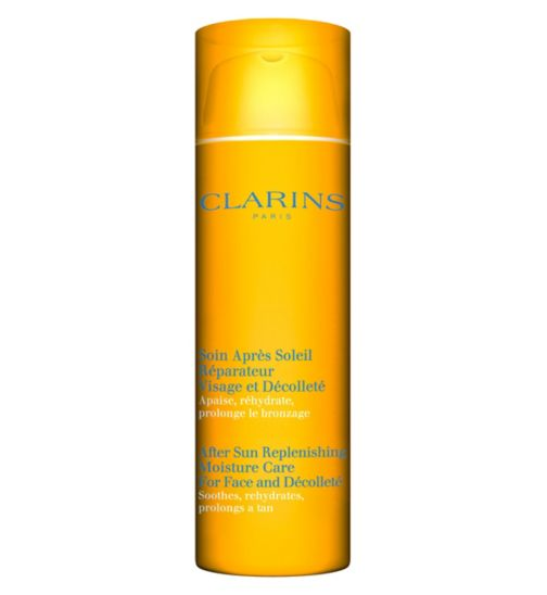 Clarins After Sun Replenishing Moisture Care for Face & Décolleté 50ml