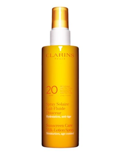 Clarins Sun Spray Gentle Milk-Lotion Moderate Protection UVB 20 - 150ml