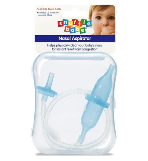 Snufflebabe Nasal Aspirator (with case)