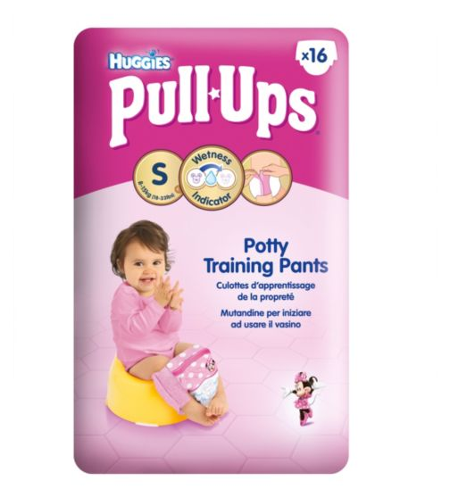 Huggies Pull-Ups Disney Princesses Girl Potty Size 4 Training Pants 1 x 16 Pack
