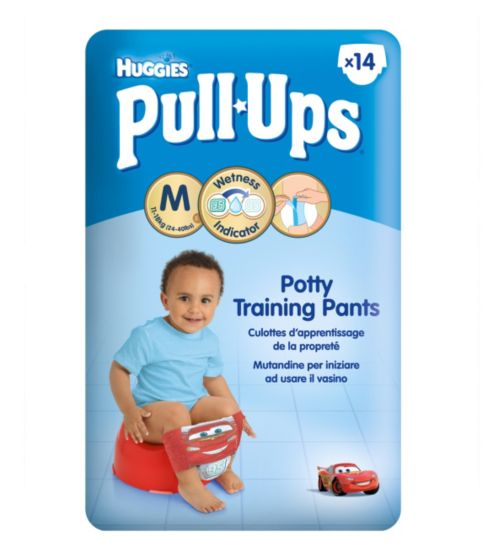 Huggies Pull-Ups Disney-Pixar Cars Boys Size 5 Potty Training Pants -  1 x 14 Pants