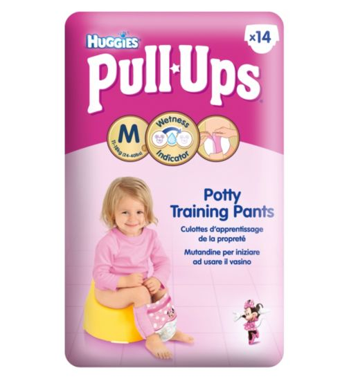 Huggies Pull-Ups Disney Princesses Girls Size 5 Potty Training Pants -  1 x 14 Pants