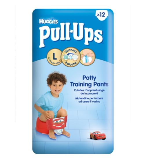 Huggies Pull-Ups Disney-Pixar Cars Boy Size 6 Potty Training Pants - 1 x 12 Pants