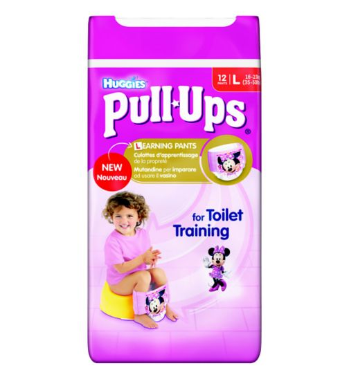 Huggies Pull-Ups Disney Princesses Girl Size 6 Potty Training Pants - 1 x 12 Pants
