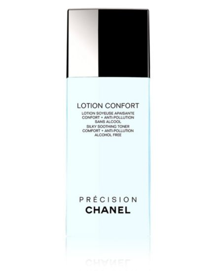 CHANEL LOTION CONFORT Silky Soothing Toner Comfort + Anti-Pollution Alcohol Free 200ml