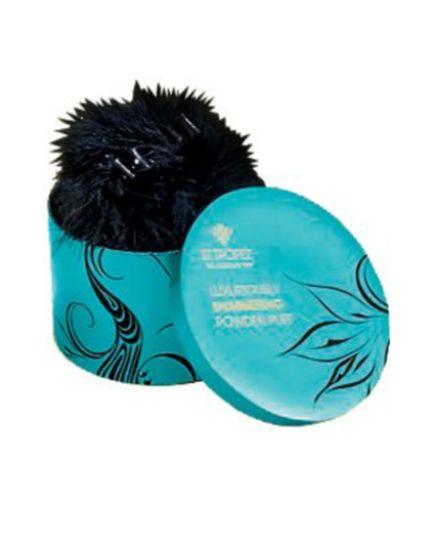 <p>St Tropez Luxuriously Shimmering Powder Puff<br />&nbsp;</p>