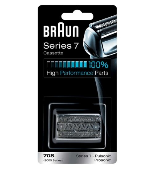 Braun Series 7 Electric Shaver Replacement Foil Cartridge, 70S – Silver
