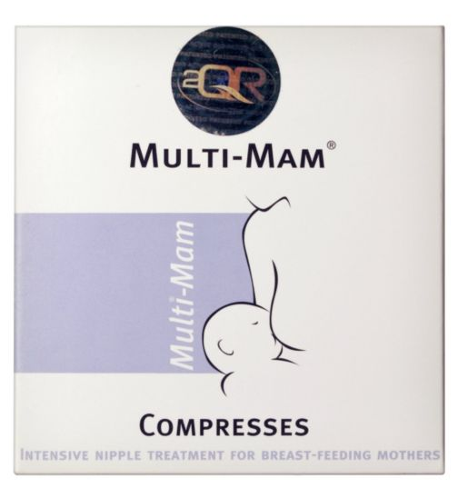 Multi-Mam Compresses 1 x 12 Pack