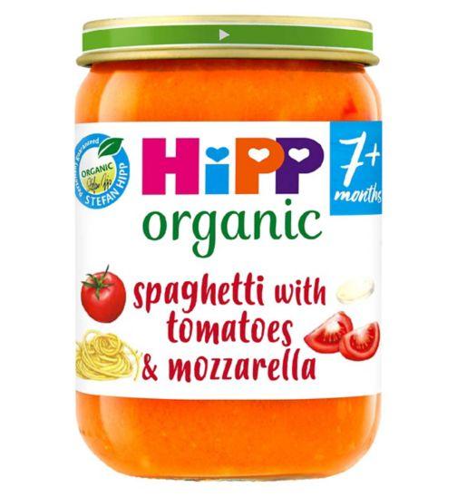 HiPP Organic Spaghetti with Tomatoes & Mozzarella 7+ Months 190g