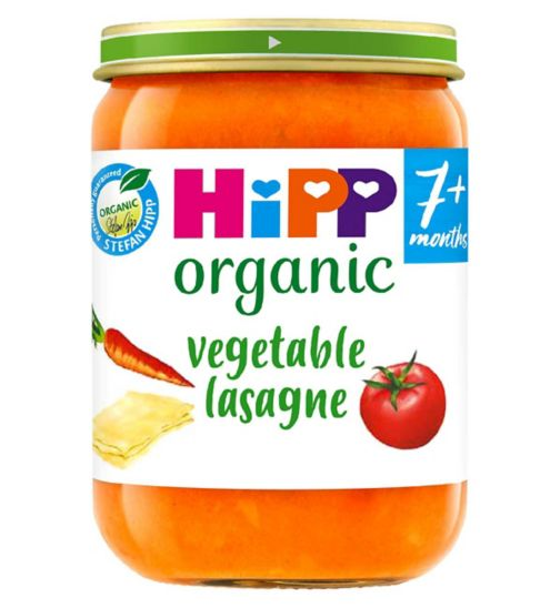 HiPP Organic Vegetable Lasagne 7+ Months 190g