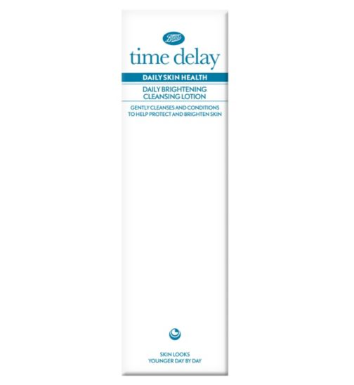 BootsTime Delay Daily Skin Health Daily Brightening Cleansing Lotion 150ml
