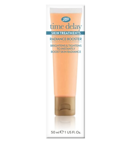 Boots Time Delay Skin Treatments Radiance Booster 50ml