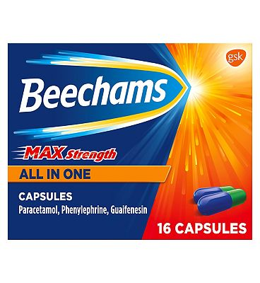 Beechams Max Strength All in One Capsules - 16 Capsules