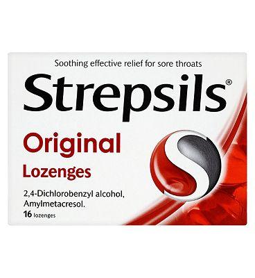 Strepsils Original Lozenges-16 pack