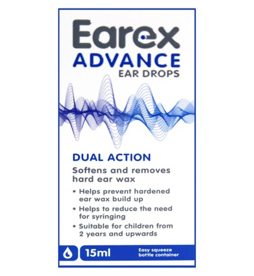 Earex Advance Ear Drops (15ml)