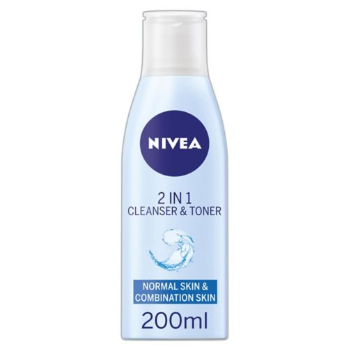 Nivea  Daily Essentials 2 in 1 Cleanser and Toner 200ml