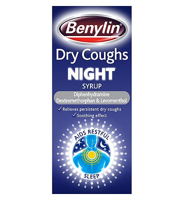 Benylin Dry Coughs Night Syrup - 150ml